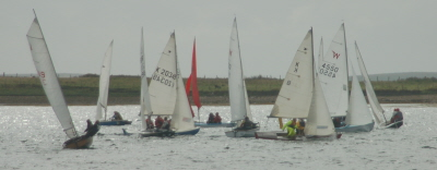allcomers at the windward mark